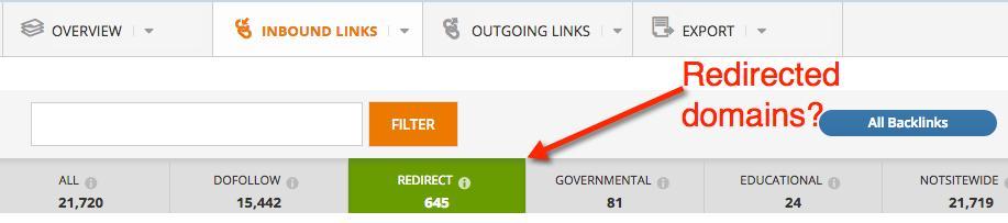 Redirect Domains