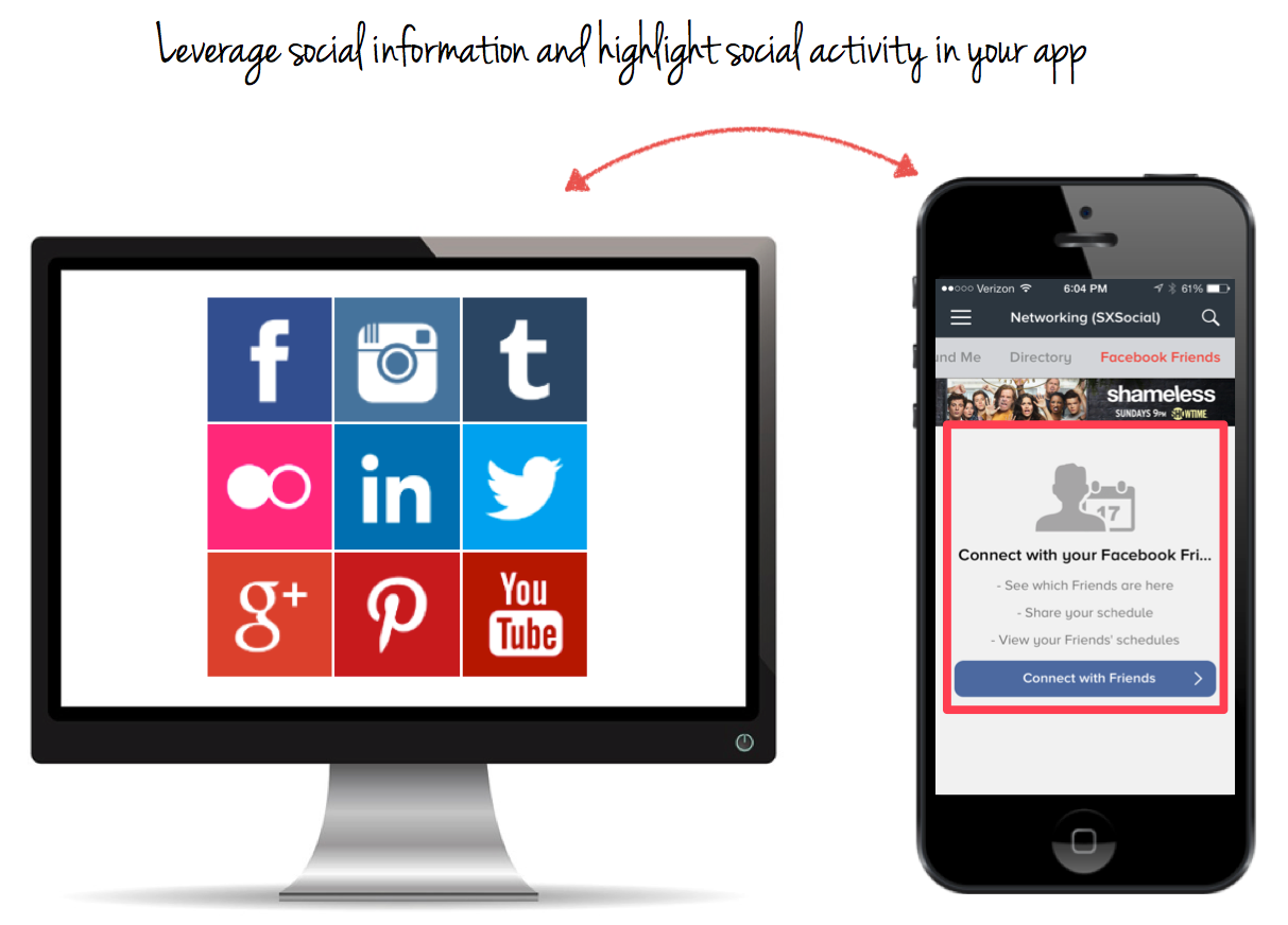 Highlight Social Activity in Your App