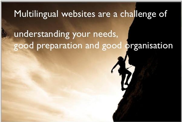 Multilingual Website Challenges
