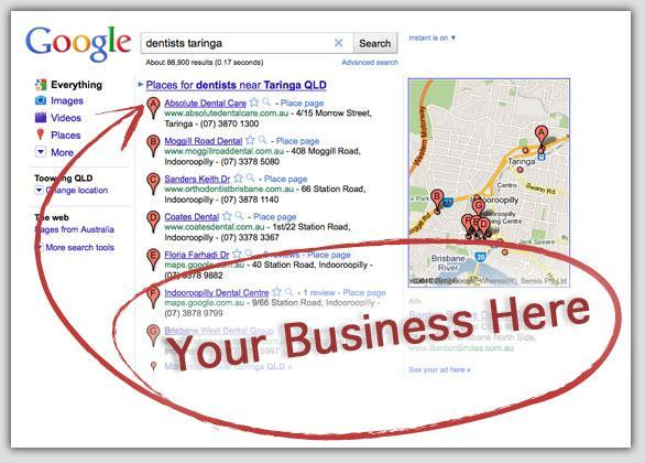 Listing Business Location with Google