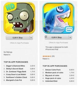 App Purchases