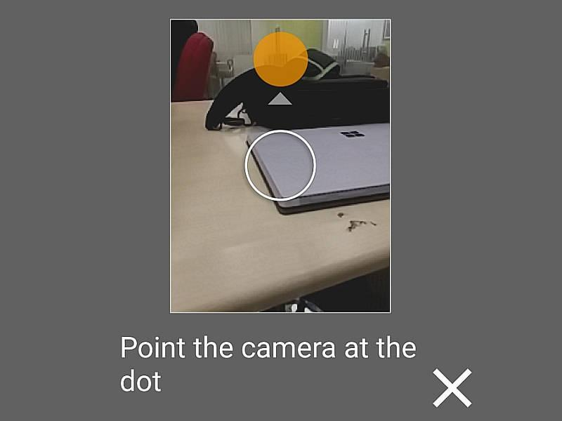 Point the Camera