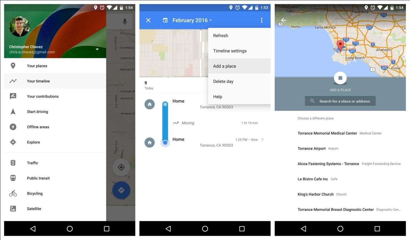 Latest Updates in Google Maps