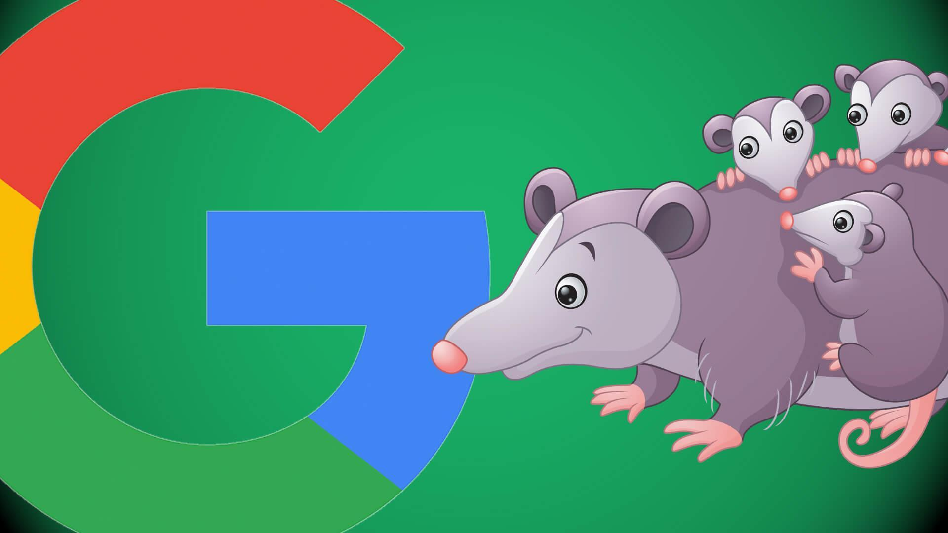 Googles Possum Update