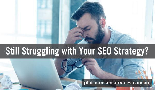 Struggling SEO Strategy