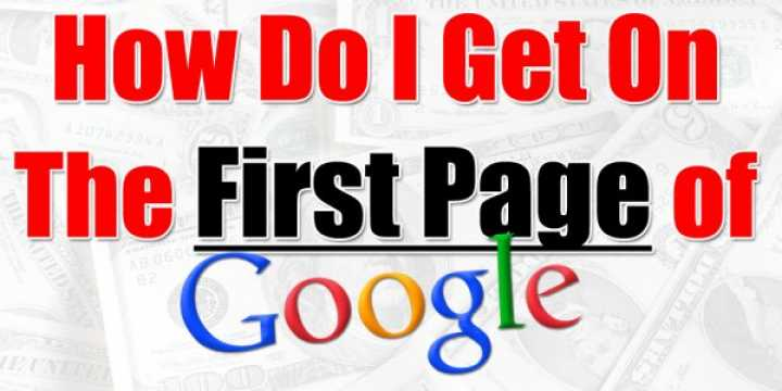 First Page Google